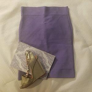 BCBG MAXAZRIA Purple/Lavender skirt